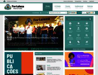 fortaleza.ce.gov.br screenshot