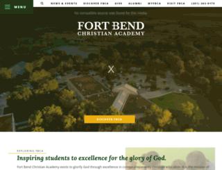 fortbendchristian.org screenshot
