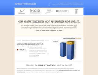 fortbildung.kurtbuck-vertriebscoach.de screenshot