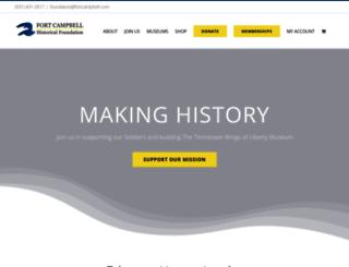 fortcampbell.com screenshot
