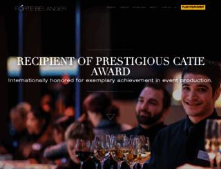 fortebelanger.com screenshot