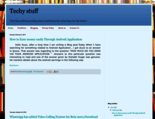 fortechgeeksonly.blogspot.in screenshot