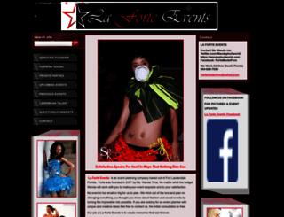 fortemodelfirm.webnode.com screenshot