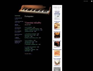 fortepiano.szm.com screenshot