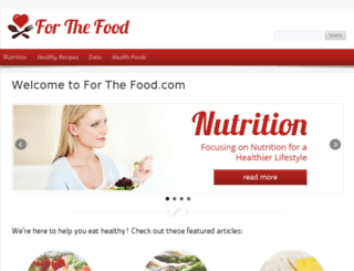 forthefood.net screenshot