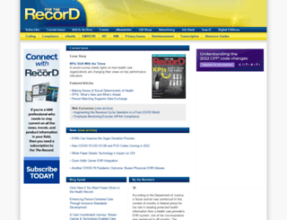 fortherecordmag.com screenshot