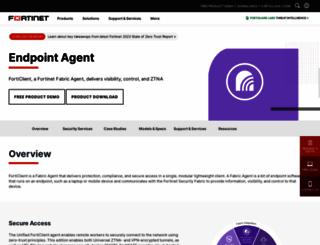 forticlient.com screenshot