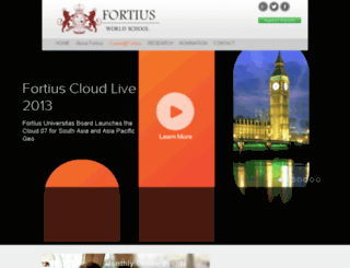 fortiusworldschool.asia screenshot