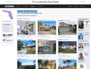 fortlauderdaleareainfo.com screenshot