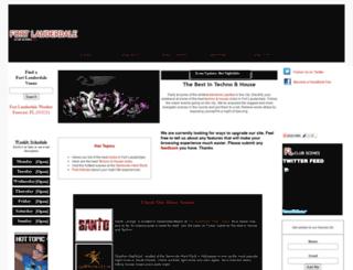 fortlauderdaleclubscenes.com screenshot