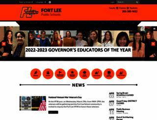 fortlee-boe.net screenshot
