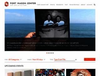 fortmason.org screenshot