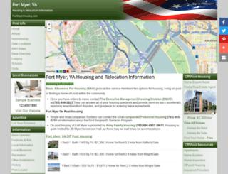 fortmyerhousing.com screenshot