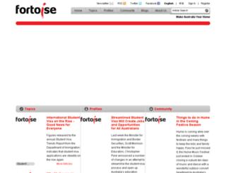 fortoise.com screenshot