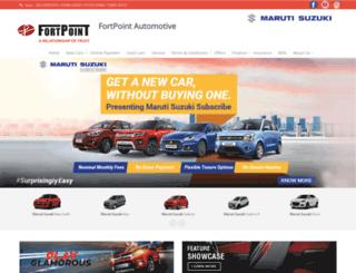 fortpointmaruti.com screenshot