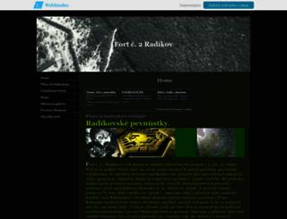 fortradikov.wbs.cz screenshot