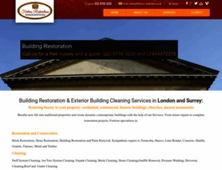 fortress-restorations.co.uk screenshot