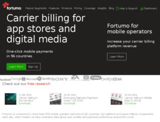 fortumo.ro screenshot