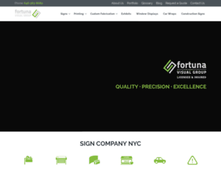 fortunasigns.com screenshot