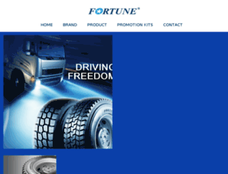 fortune-tyres.com screenshot