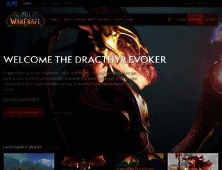 fortune.worldofwarcraft.com screenshot