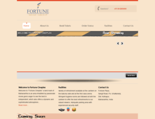 fortunecineplex.com screenshot