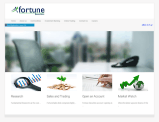 fortunesecurities.com screenshot