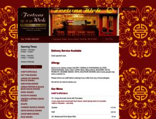 fortunewok.co.uk screenshot