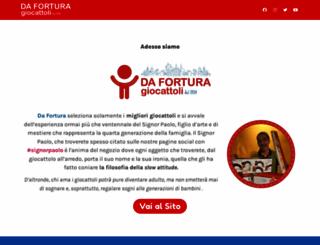 forturagiocattoli.com screenshot
