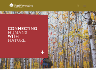 fortwhyte.org screenshot