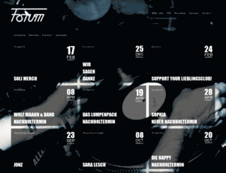 forum-bielefeld.com screenshot