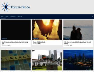 forum-biz.de screenshot