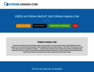 forum-canada.com screenshot