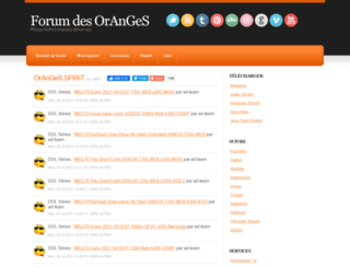 forum-des-oranges.fr screenshot
