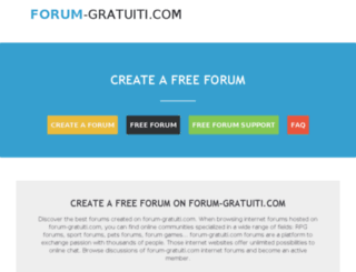 forum-gratuiti.com screenshot