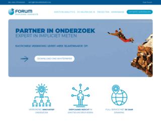 forum-marketing-research.nl screenshot