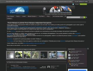 forum-olympus-france.com screenshot