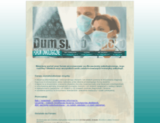 forum-onkologiczne.com.pl screenshot