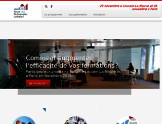 forum-pedagogies-ludiques.com screenshot