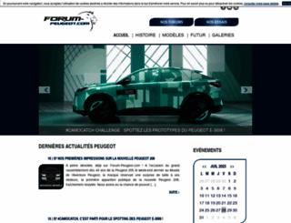 forum-peugeot.com screenshot