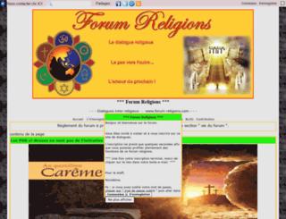 forum-religions.com screenshot