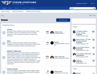 forum-sportowe.pl screenshot