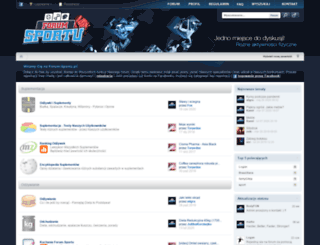forum-sportu.pl screenshot