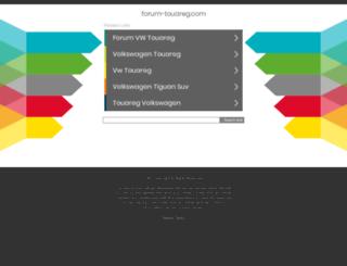 forum-touareg.com screenshot