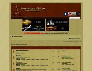 forum-zapalki.eu screenshot