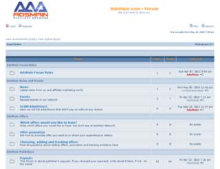 forum.adsmain.com screenshot