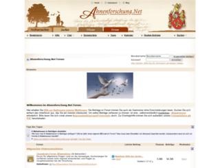 forum.ahnenforschung.net screenshot