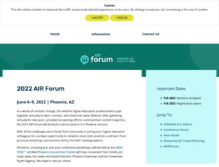 forum.airweb.org screenshot