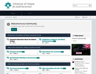 forum.allianceofhope.org screenshot