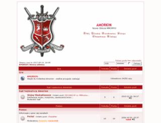forum.amorion.pl screenshot